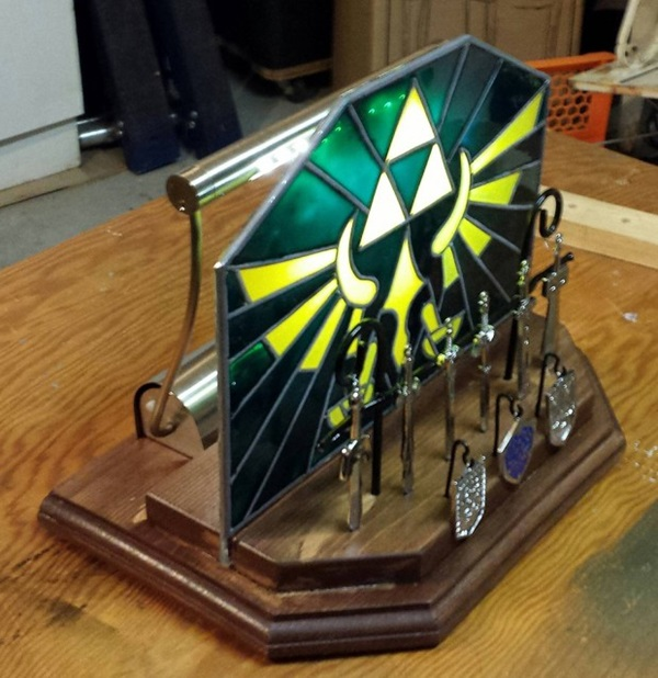 Zelda Triforce Nightlight - Geek Decor