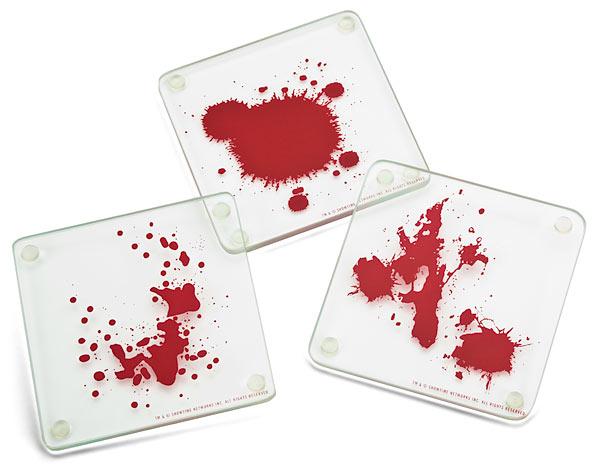 Dexter Coasters Detail - Geek Decor