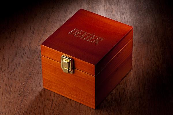 Dexter Coasters Box Engraving - Geek Decor