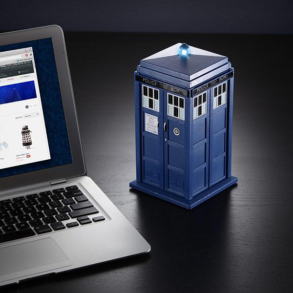 Doctor Who Bluetooth Speakers TARDIS - Geek Decor