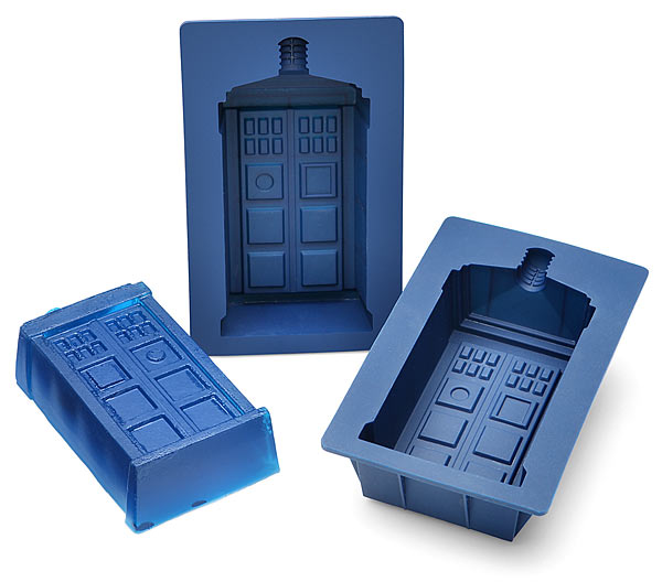 Doctor Who TARDIS Gelatin Molds - Geek Decor