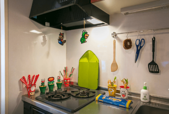 Super Mario Apartment Kitchen Stove - Geek Decor