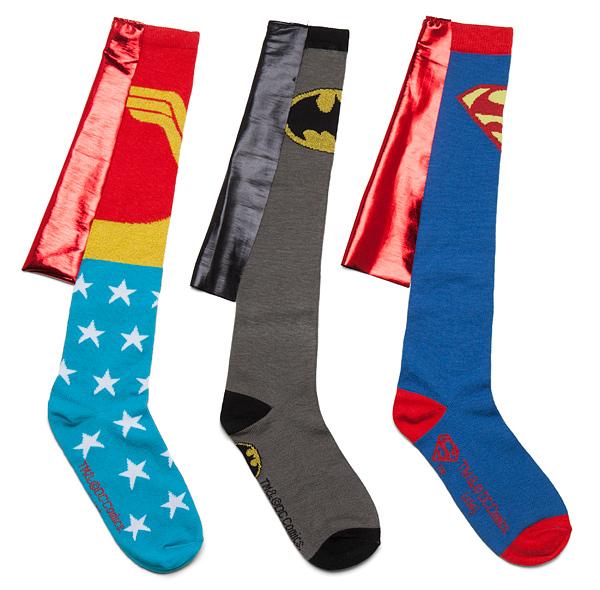 Superhero Caped Socks - Geek Decor