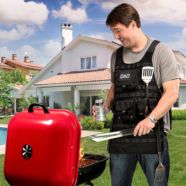 Tactical Dad Apron - Geek Decor