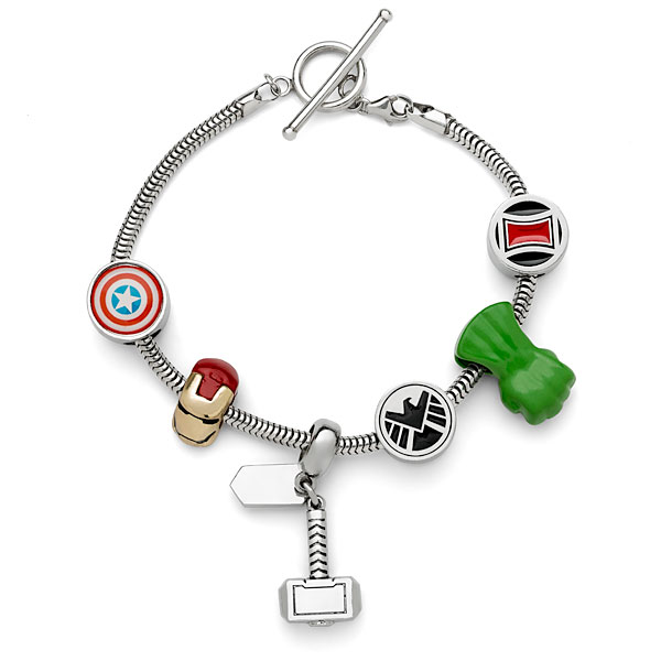 Avengers Charm Set -- Geek Decor