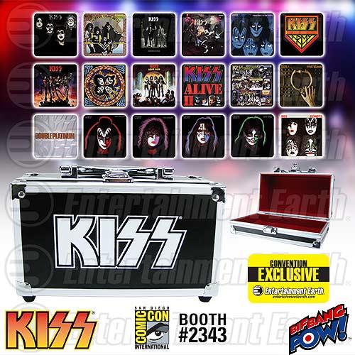 KISS Coaster Set - Geek Decor