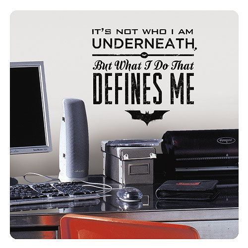 Batman Wall Decal - Geek Decor