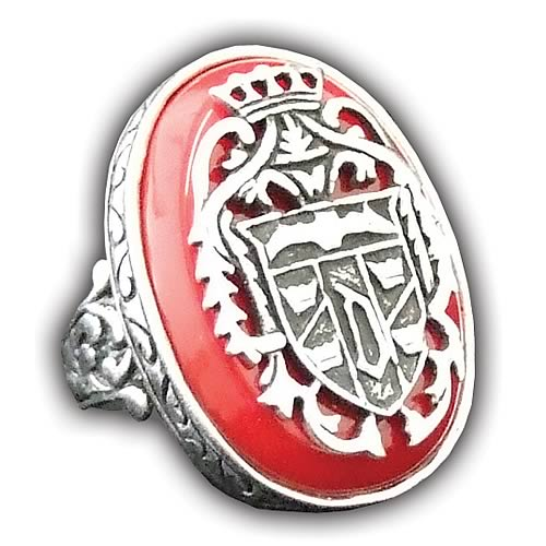 Dracula's Ring Prop Replica - Geek Decor