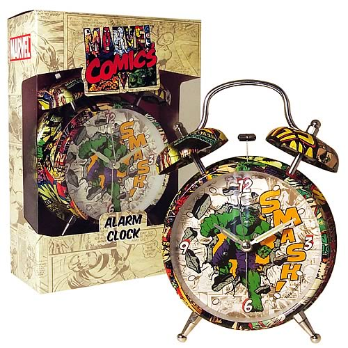 Retro Hulk Alarm Clock - Geek Decor