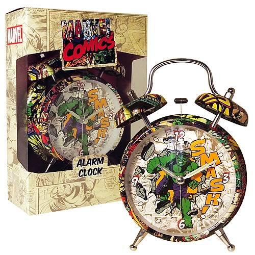 Retro Hulk Alarm Clock - Geek Decor