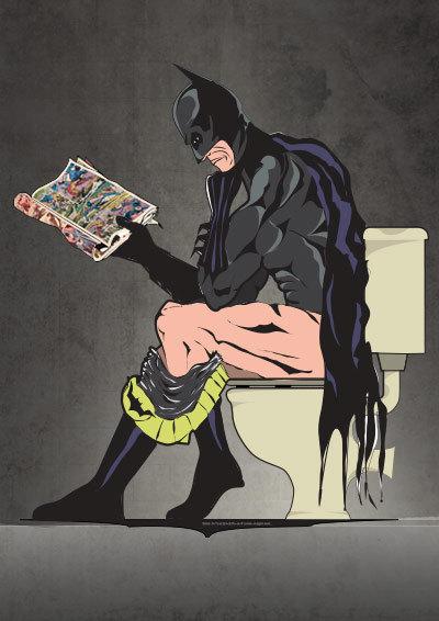 Batman Art Print - Geek Decor