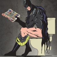 Batman Goes Potty Too