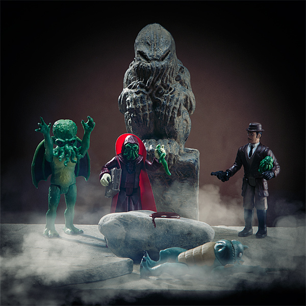 Legends of Cthulhu Action Figures Silly Pose - Geek Decor