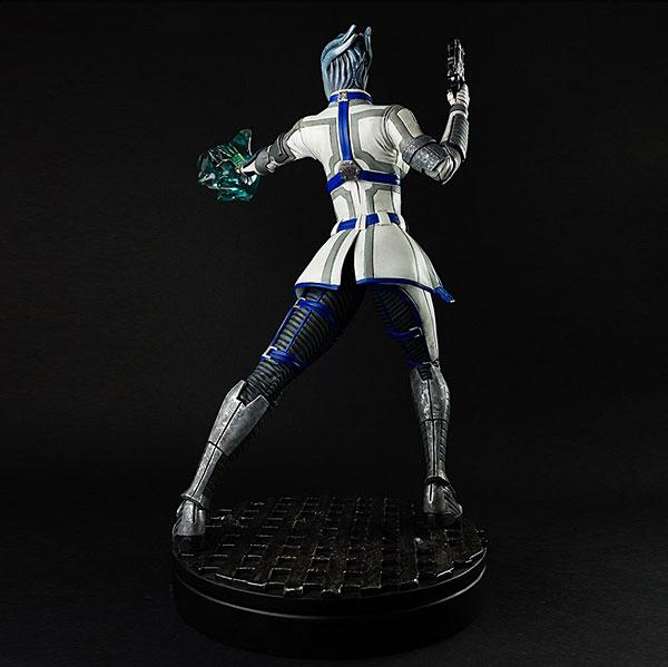 Liara Mass Effect 3 Statue Back View - Geek Decor