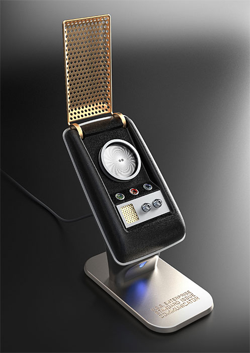 Star Trek Communicator Front - Geek Decor