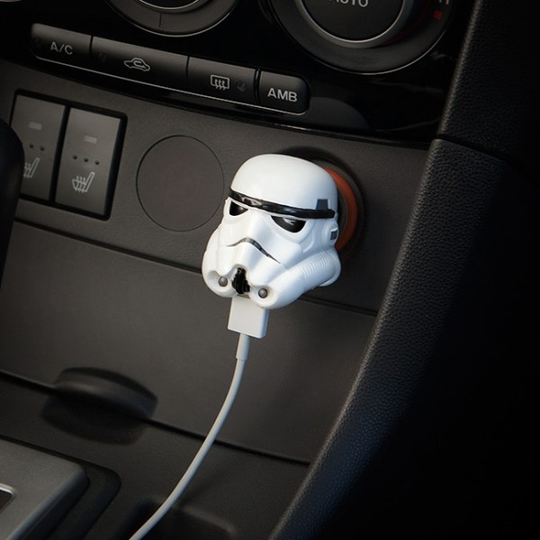 Stormtrooper Car Charger - Geek Decor