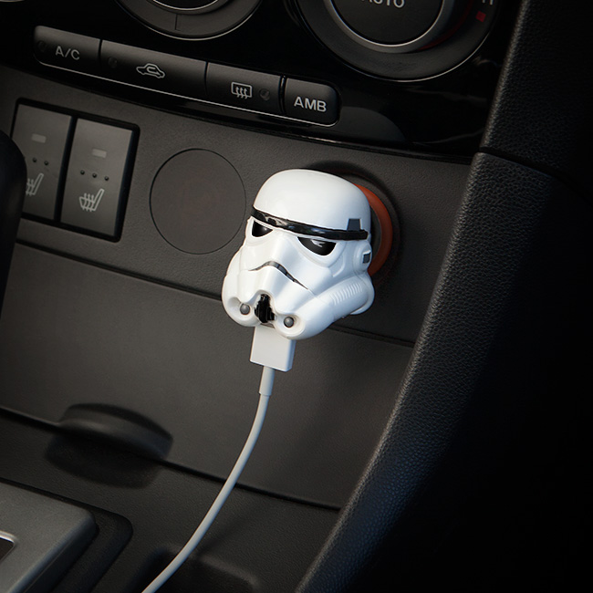 Stormtroopers Charge Phones, Hence Their Aim