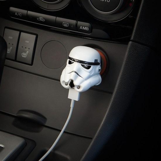 Stormtrooper Car Charger - Geek Decor