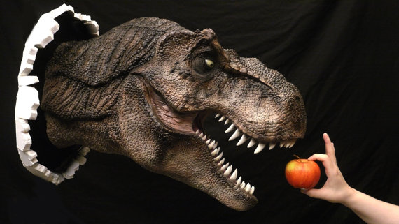 T-Rex Prop Replica Hunggrrryyy - Geek Decor