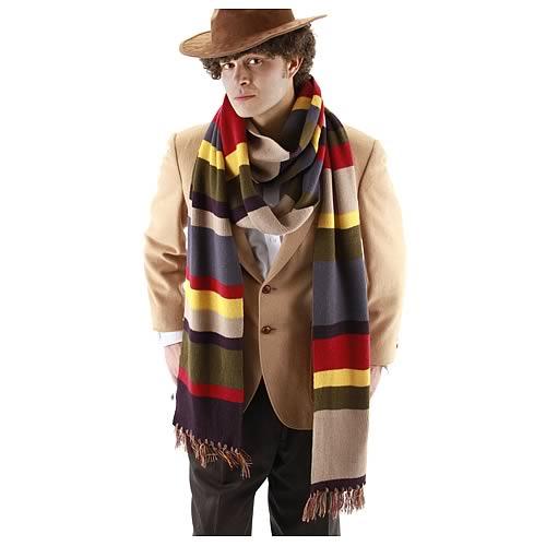 Doctor Who Scarf -- Geek Decor