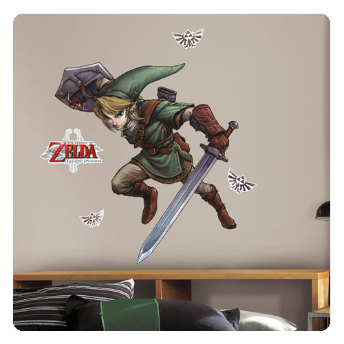 Twilight Princess Link Wall Decal - Geek Decor