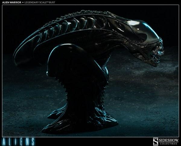 Alien Warrior Bust Side - Geek Decor