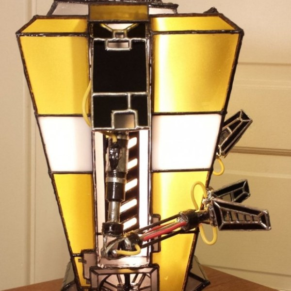 Claptrap Lamp - Side - Geek Decor
