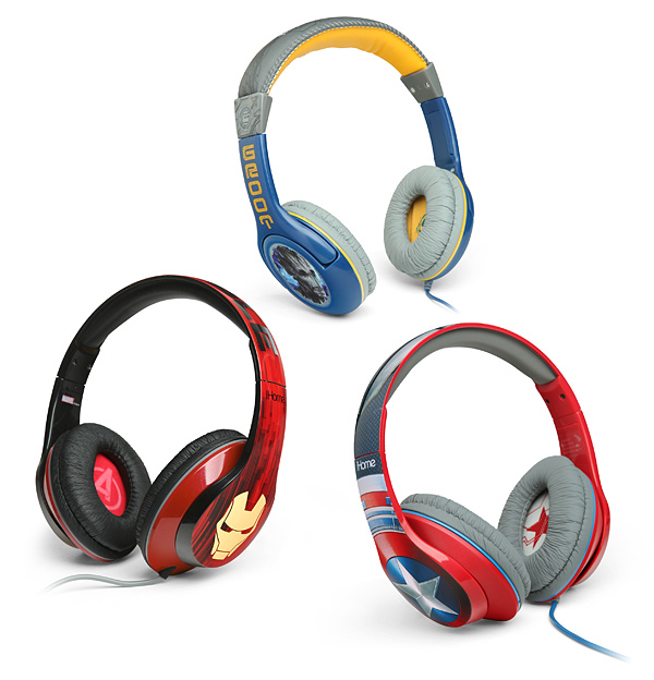 Marvel Headphones - Geek Decor