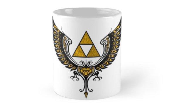 Tri Winged Mug Standard - Geek Decor