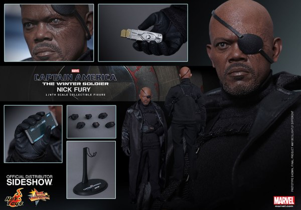Nick Fury Figure Complete - Geek Decor