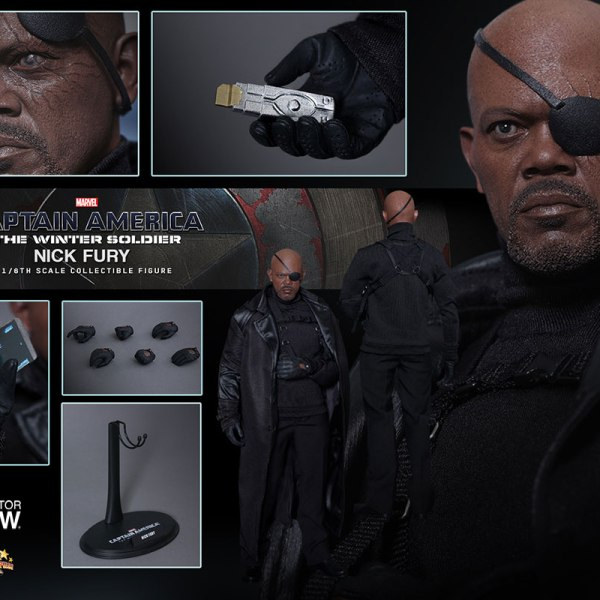 Nick Fury Figure Complete - Geek Decor