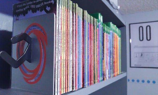 Portal Bedroom Bookshelf - Geek Decor