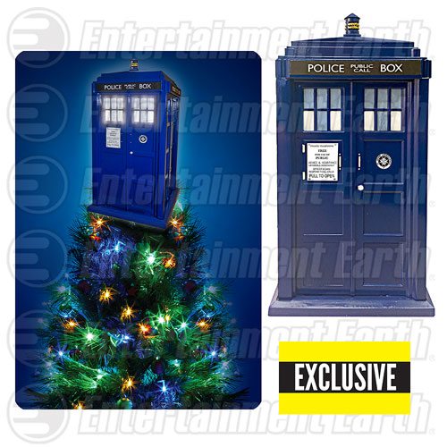 TARDIS Tree Topper - Geek Decor