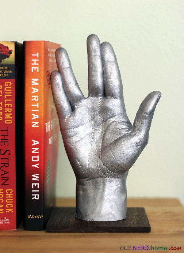 Vulcan Hand - Geek Decor