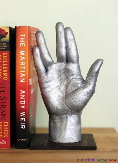 Vulcan Hand - Geek Decor