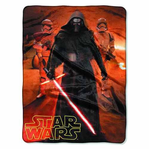 Star Wars: The Force Awakens Fleece Blanket -- Geek Decor