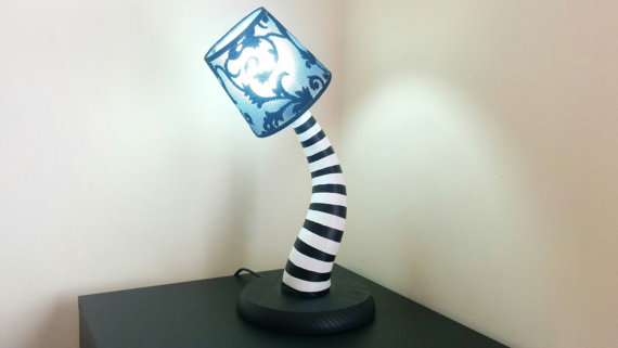 Beetlejuice Lamp - Blue - Geek Decor