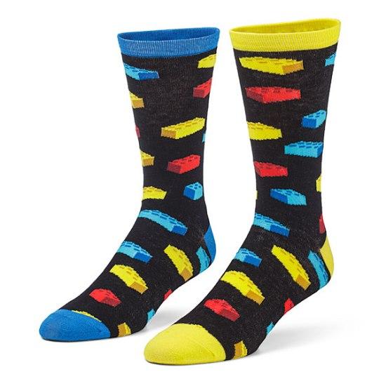 Building Brick Socks - Geek Decor