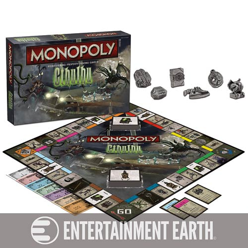 Cthulhu Monopoly Game - Geek Decor