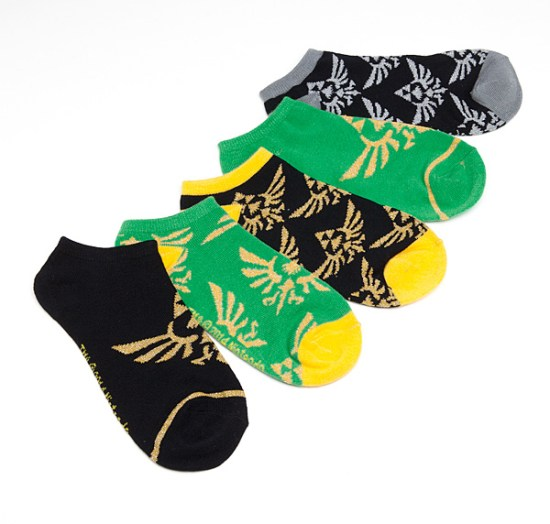 Legend of Zelda Ankle Socks - Geek Decor
