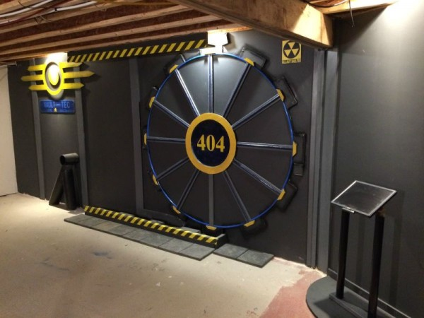 Vault Door Closeup - Geek Decor