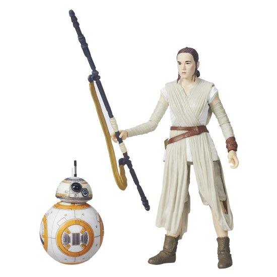 Star Wars The Black Series 6-Inch Rey (Jakku) and BB-8 - Geek Decor