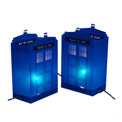 TARDIS Luminary Outdoor Decor - Geek Decor