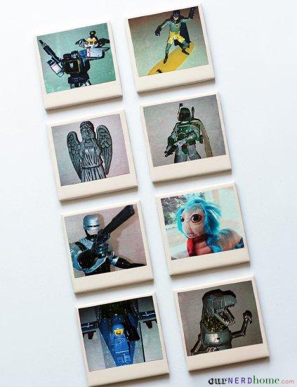 Geek Coasters - Geek Decor