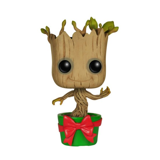 Holiday Dancing Groot - Geek Decor
