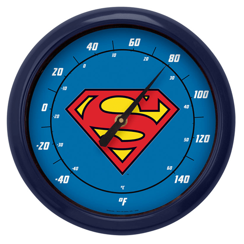 Superman Thermometer - Geek Decor