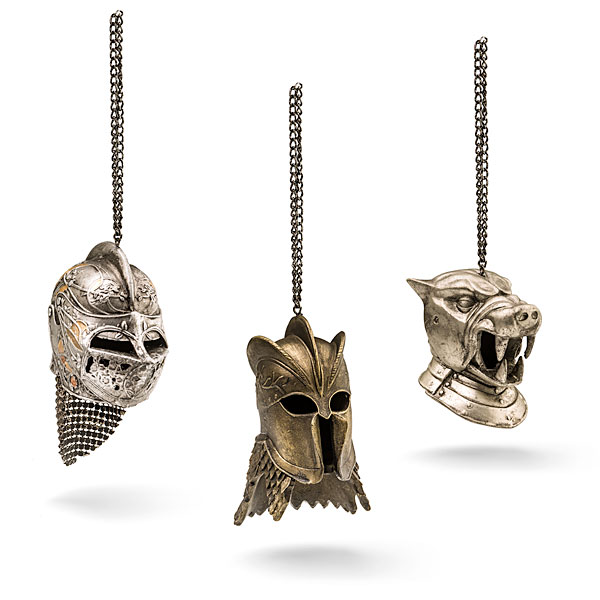 GOT Helmet Ornaments - Geek Decor