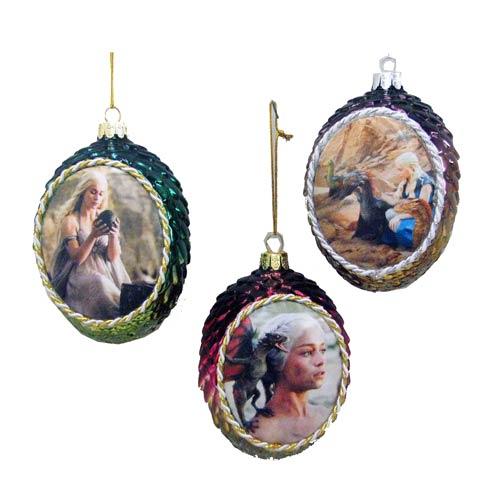 GOT Dragon Egg Ornaments - Geek Decor