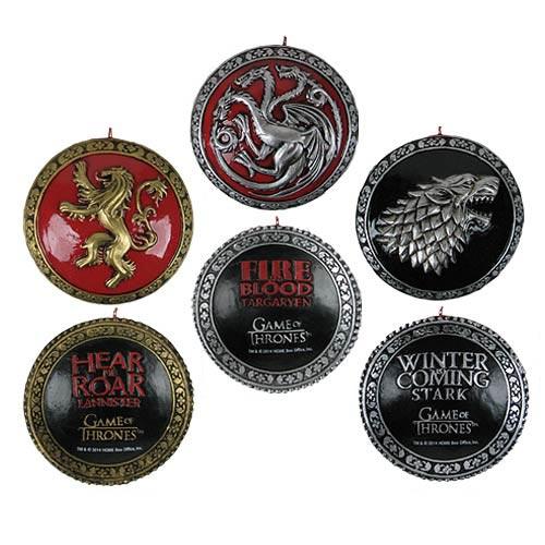 House Crest Resin GOT Ornaments - Geek Decor