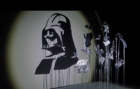 Star Wars Shadow Art - Geek Decor